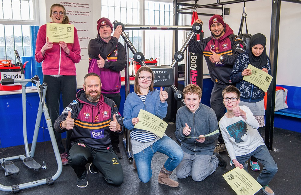 The Batley Bulldogs rugby club is one of many groups helping to make the sharing site Comoodle a success