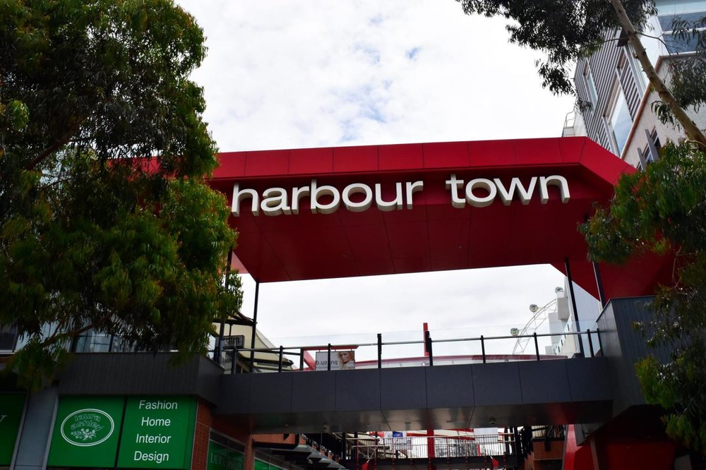 Harbour Town  - is where all the outlet shopping is located.
