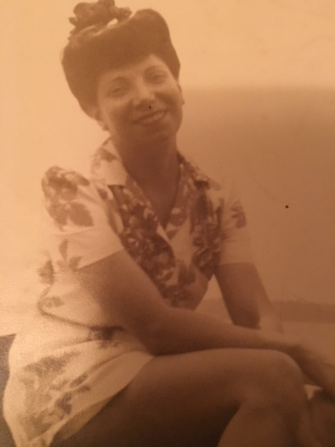 My grandmother when she was young.