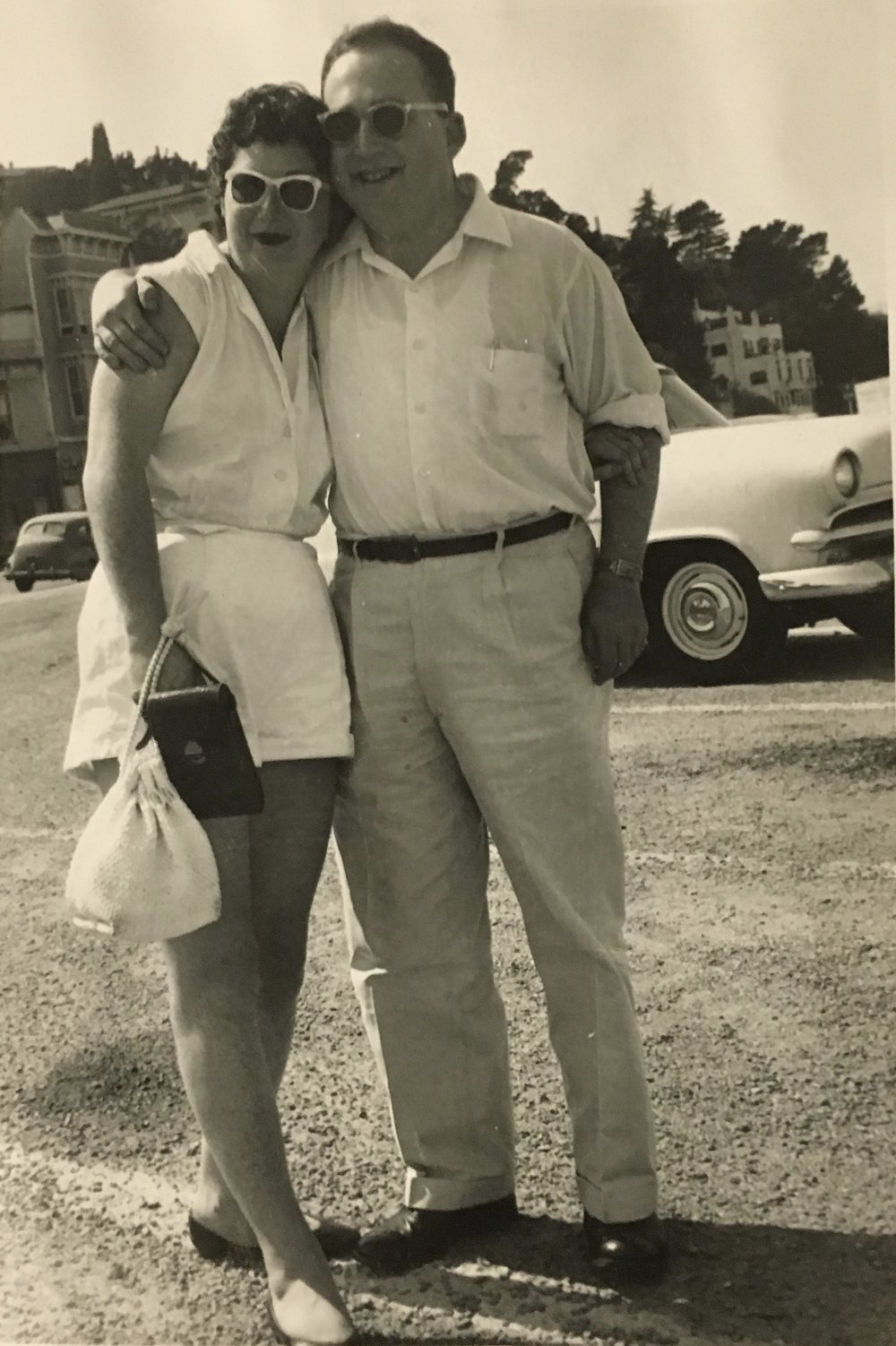 My parents when they were engaged.