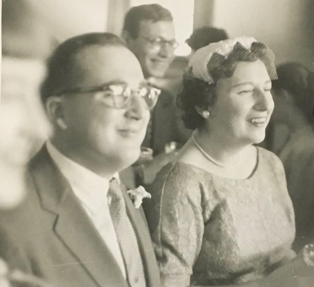 My parents at their wedding.