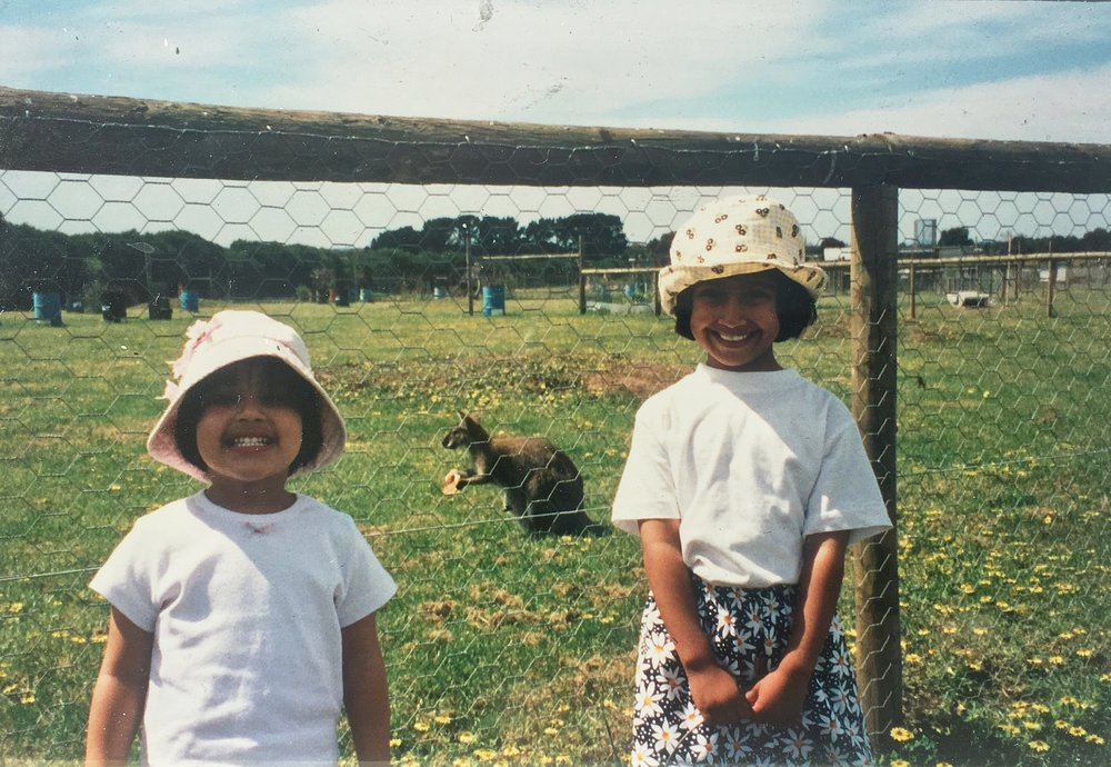 Growing up in Australia, my sister and I loved visiting and feeding the Kangaroos.