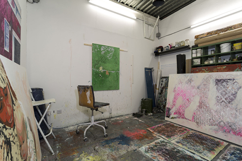 Artist's Studio at White Post Lane E9