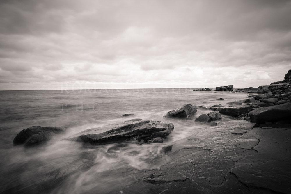 Slate seas