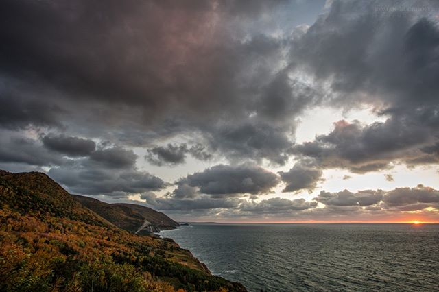 Autumn is a spectacular time of year in Cape Breton. I am really looking forward to the change - the crisp air and the incredible displays of color. . . . . . . . . #CabotTrail #CapeBreton #Explorecb #Explorecanada #VisitNovaScotia @VisitCapeBretonIsland
