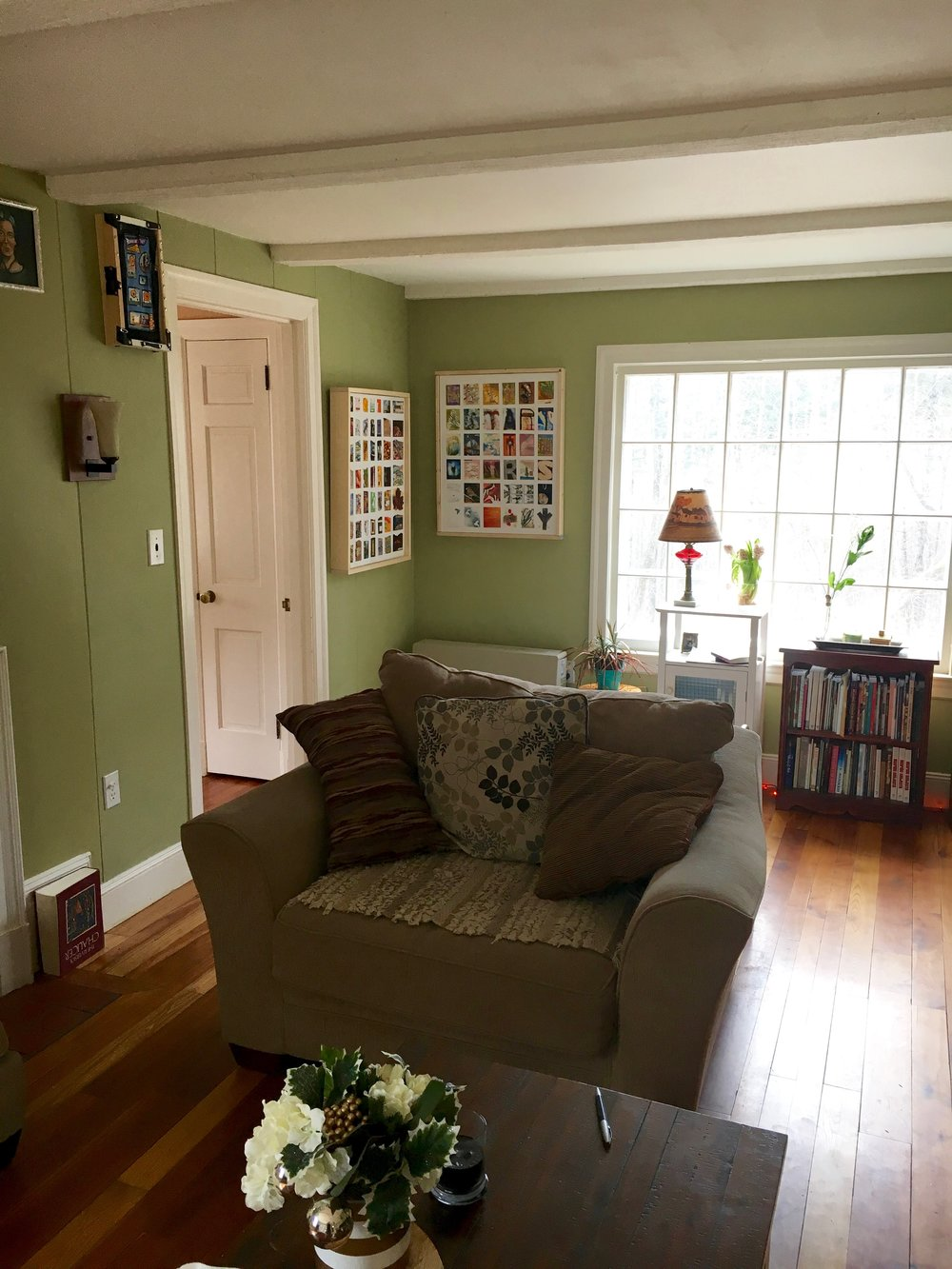 Our living room with finished Almanac #5