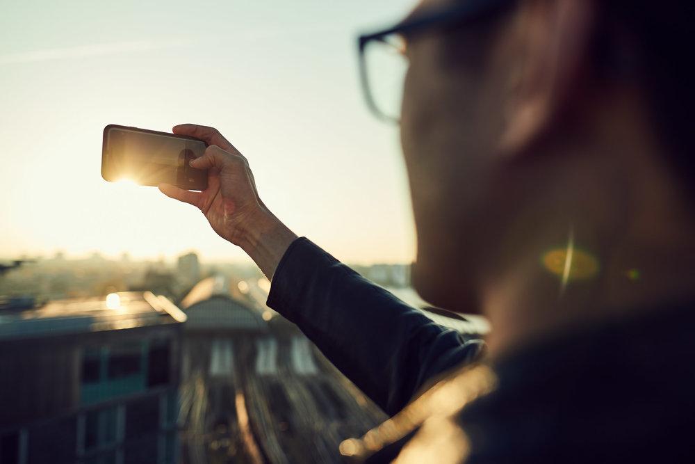 Advertising photography - key visual corporate identity Gapstars