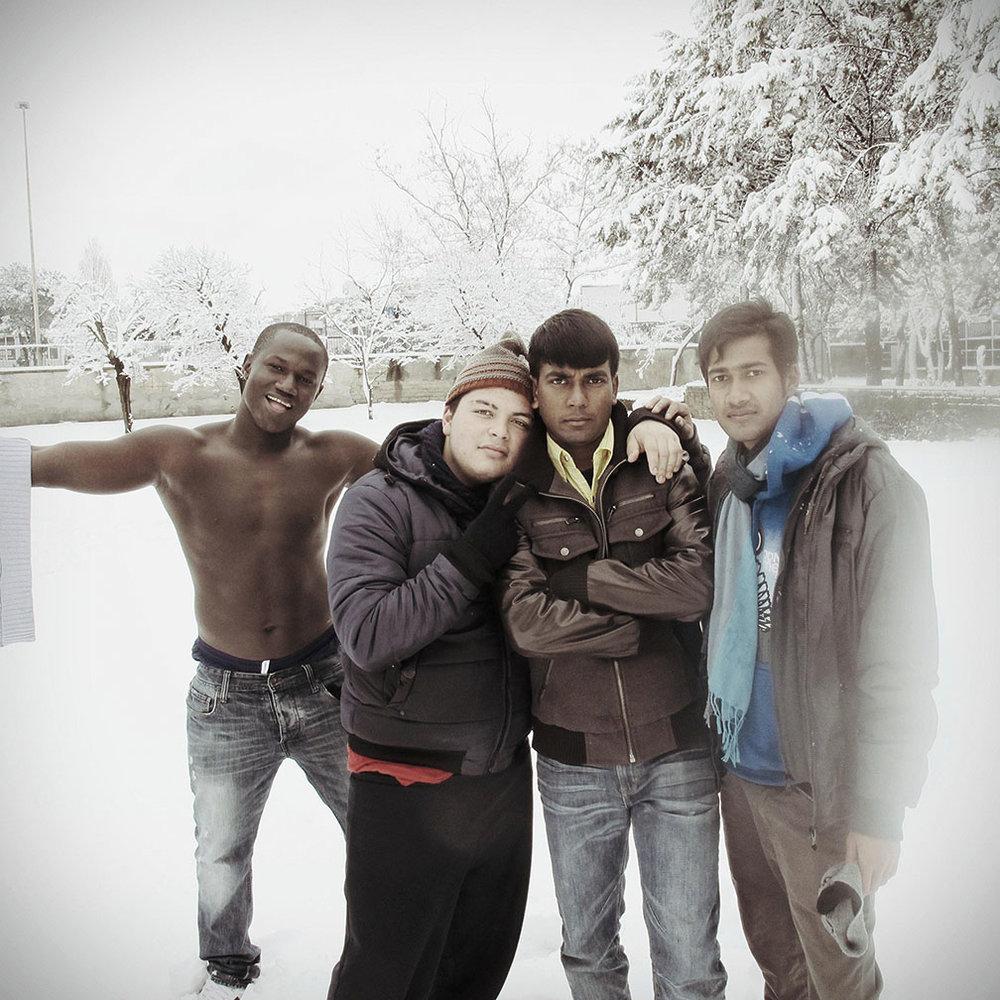 Ismael, Giuseppe, Shipon, Akash