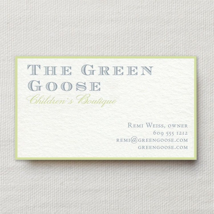 Business Stationery and Cards