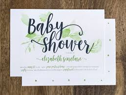 Baby Shower and Announcements