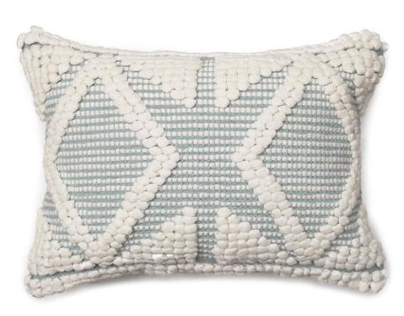 Ether Miranda Diamond Lumbar Pillow (13X18) -