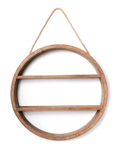 Hanging Circle Shelf -