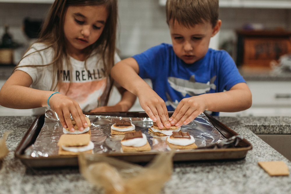 how to make s'mores at home