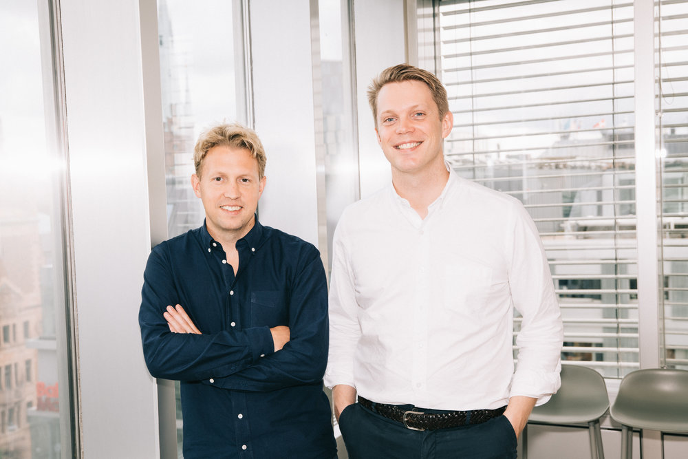 Co-founders Daniel Kjellén (CEO) and Fredrik Hedberg (CTO)  Download