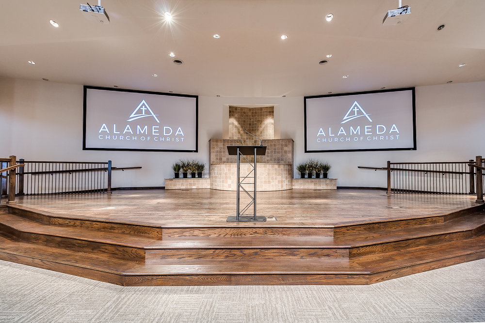 Alameda Church of Christ Sanctuary Remodel