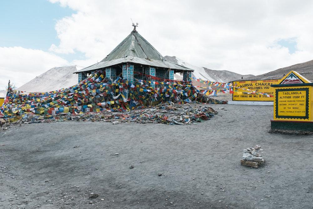 Taglangla Pass, 5300 Meter