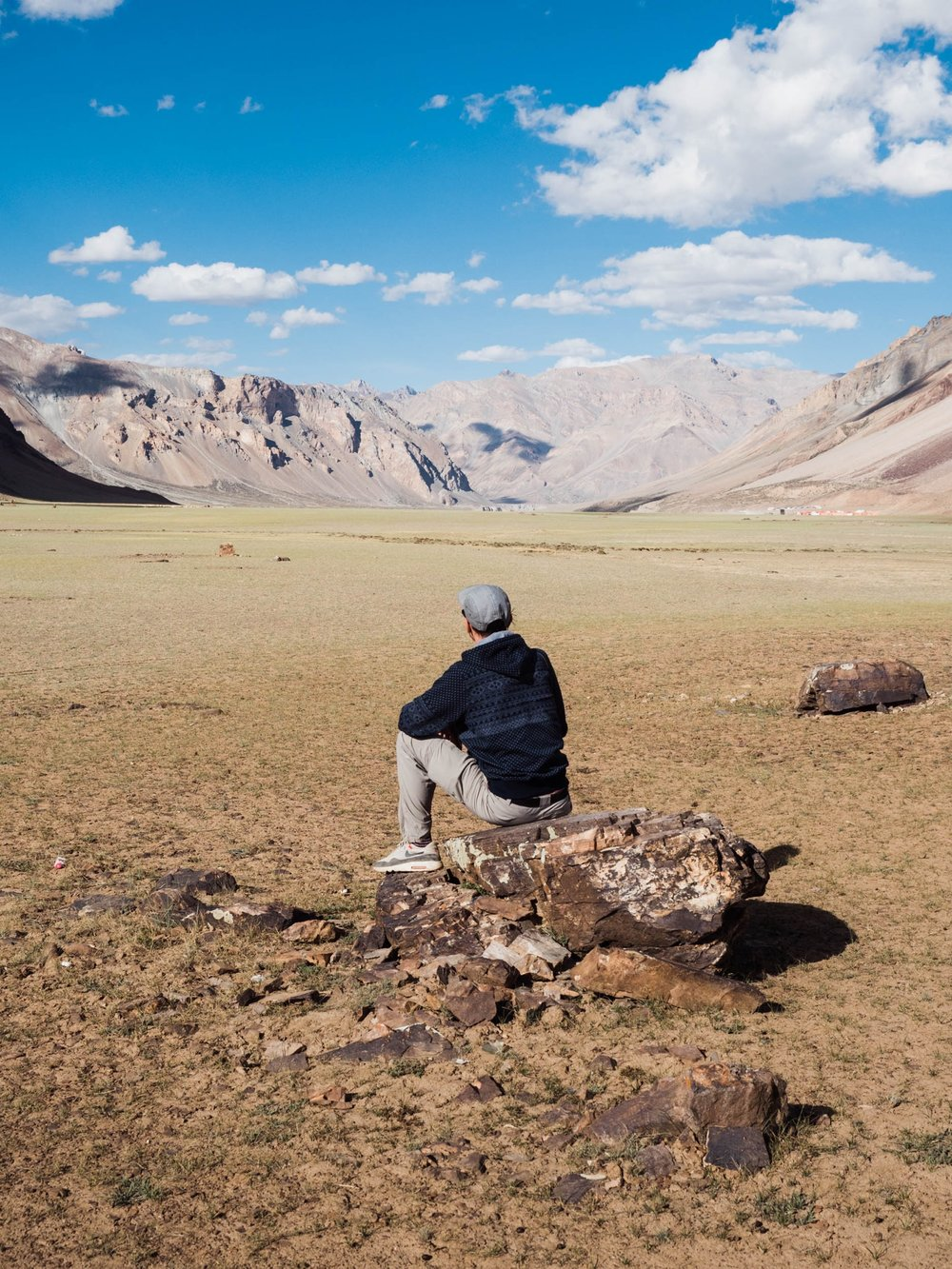 Sarchu, Camp auf 4300 Meter