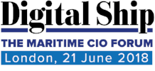 Digital Ship Maritime CIO Forum London, 21 June 2018
