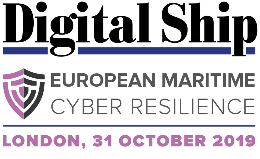 Digital Ship European Maritime Cyber Resilience Forum (London) 31 October