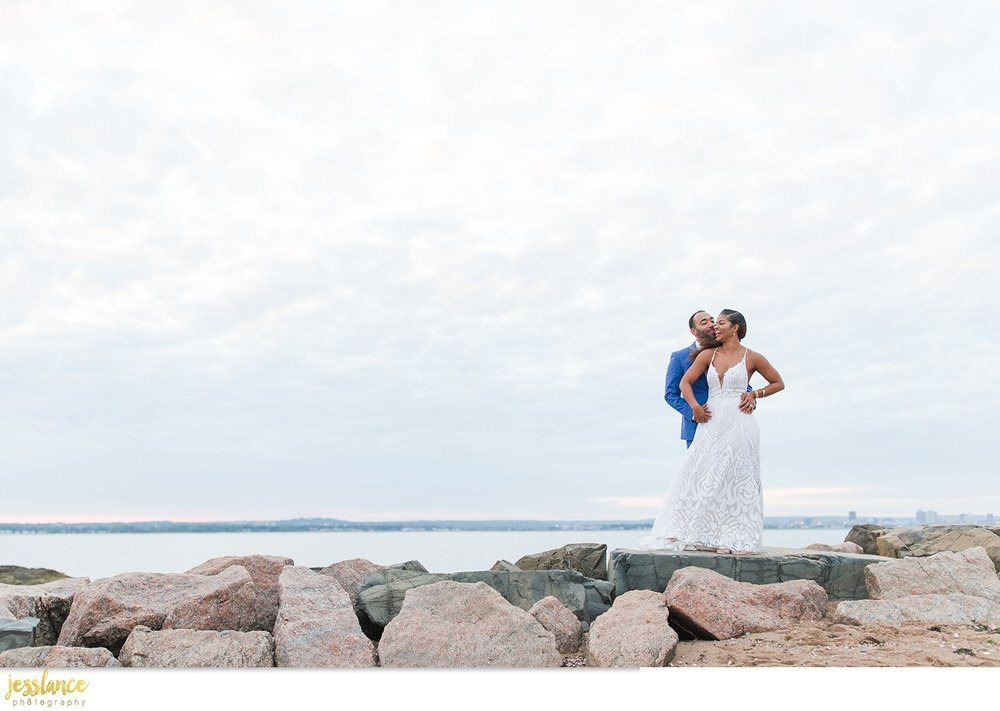 lighthouse point park wedding new haven