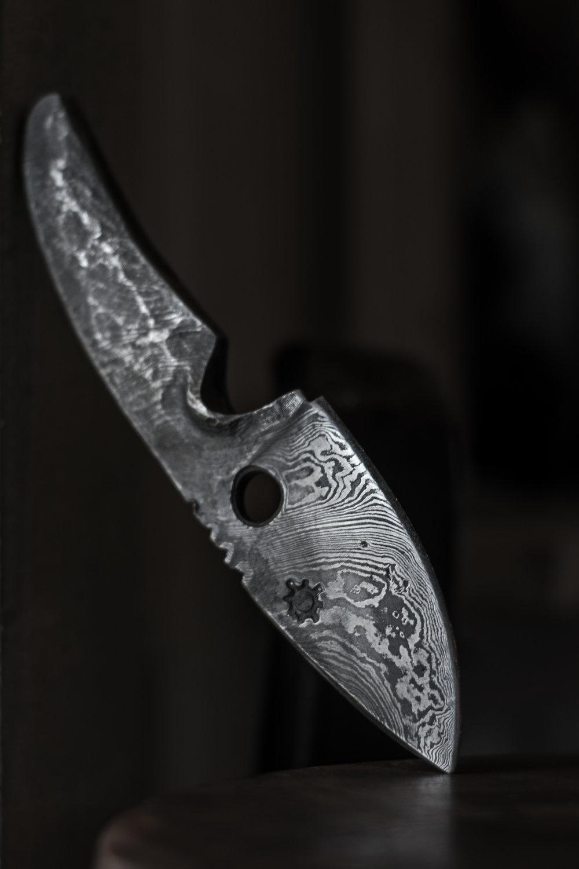 Kniv damask