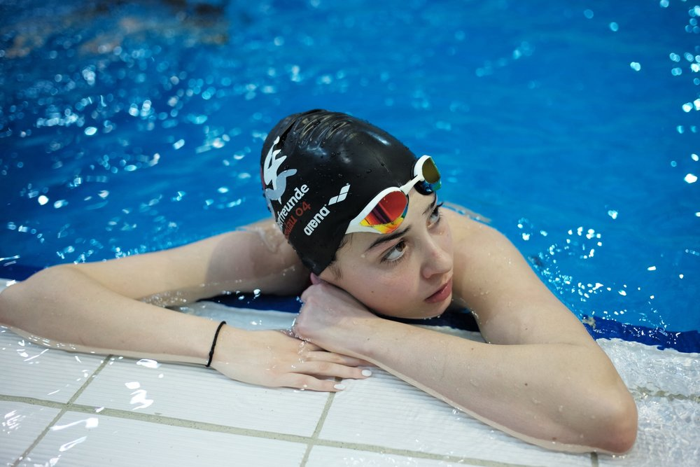 UNHCR Goodwill Ambassador and swimmer Yusra Mardini. (Courtesy of UNHCR)