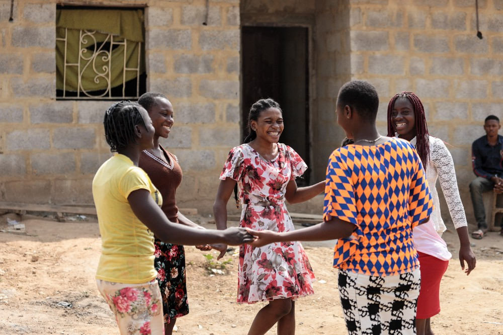 """The girls I work with have fantastic visions. They want to be pilots, they want to be accountants, they want to be journalists. I advocate for girls because those dreams can only happen with secondary education."" (Courtesy of Tolu Onibokun / Malala Fund)"