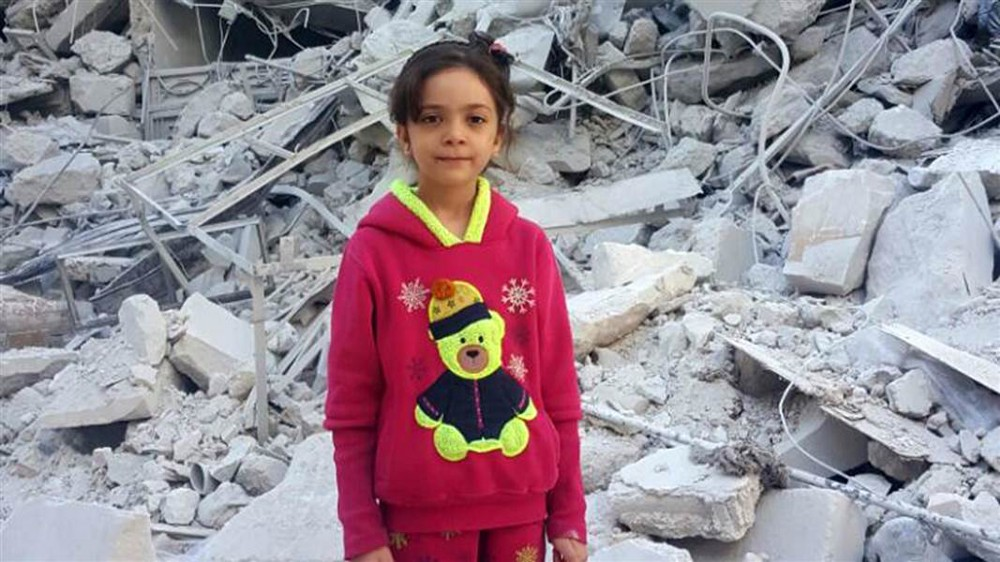 At age 7, Bana began tweeting about life in Aleppo during the Syrian war. (Courtesy of NBC News)