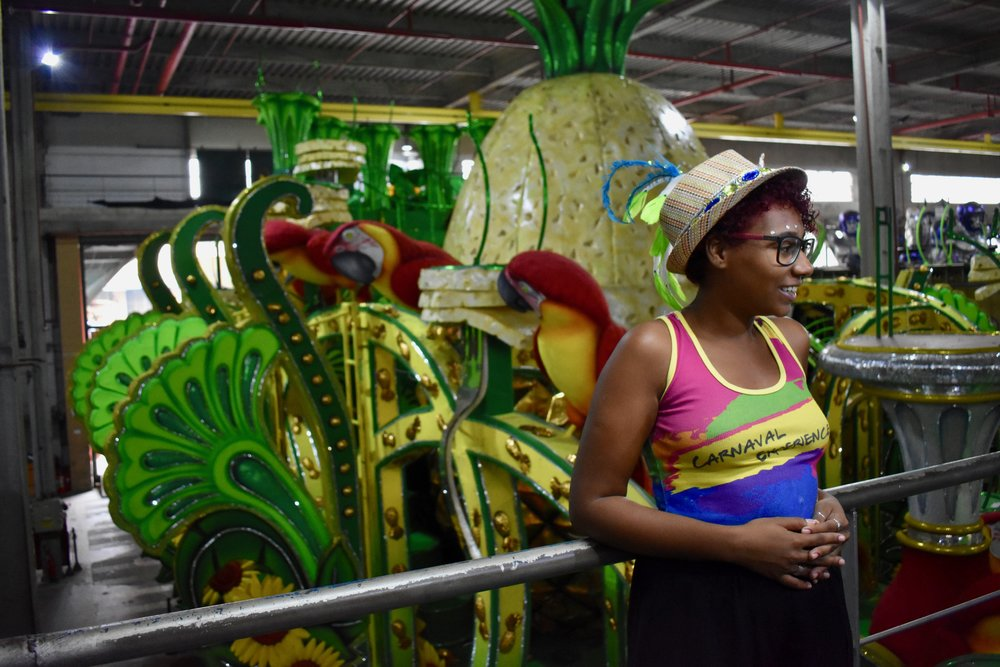Growing Up In Bad Neighborhood Does >> With Help From A Children S Samba School Dondara Finds Her Own Beat