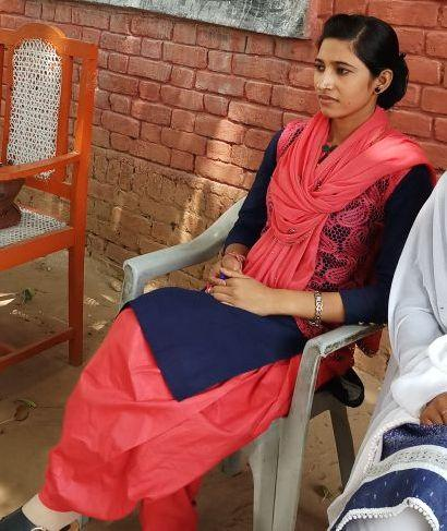 Samreen — who is now engaged to a doctor — has no plans to quit teaching after marriage. (Courtesy of Samreen)