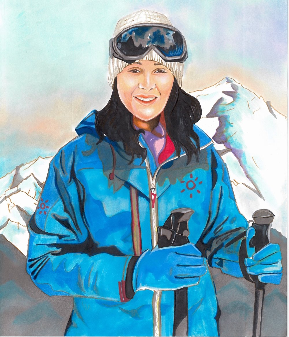 Samina Baig: The First Pakistani woman to climb Mount Everest. (Courtesy of Maliha Abidi)