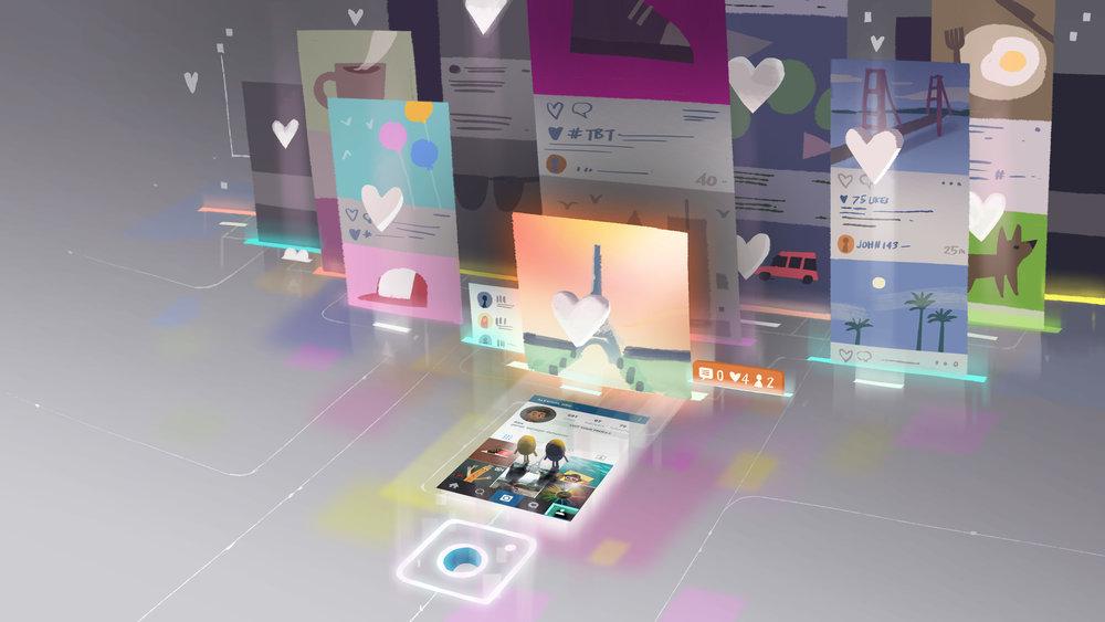 Instagram App concept