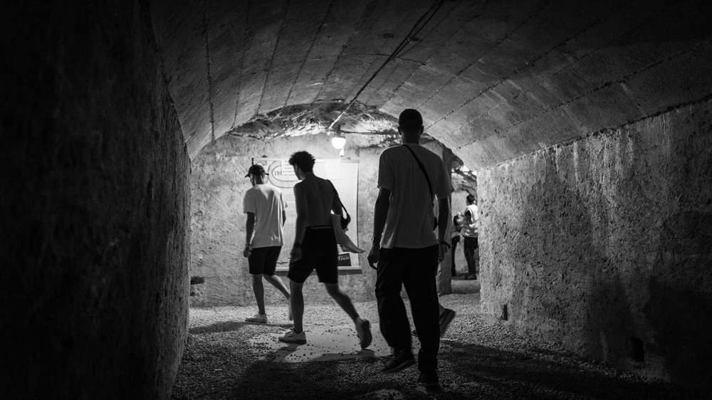 Residents Advisor Dimensions Festival Tunnel Party 2018 by Callum Chaplin