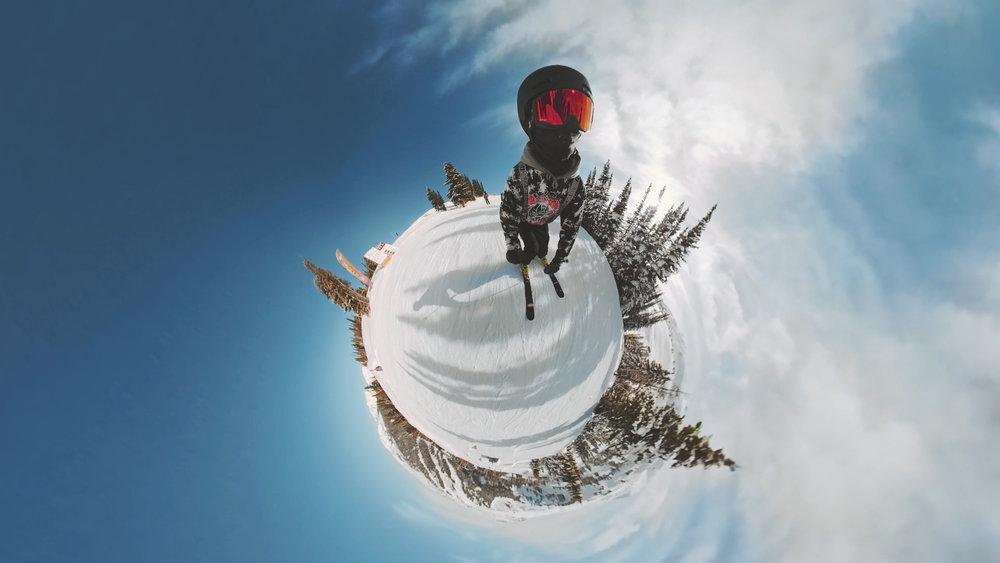 Shredding Sunshine Village - 360 film
