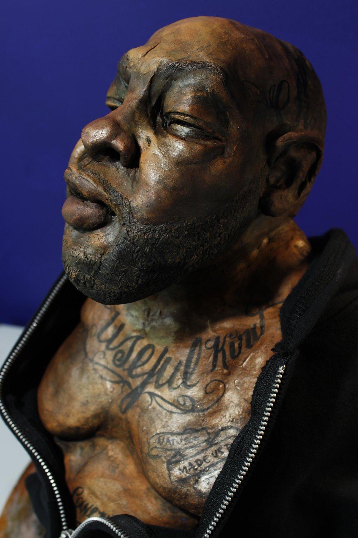 A black male