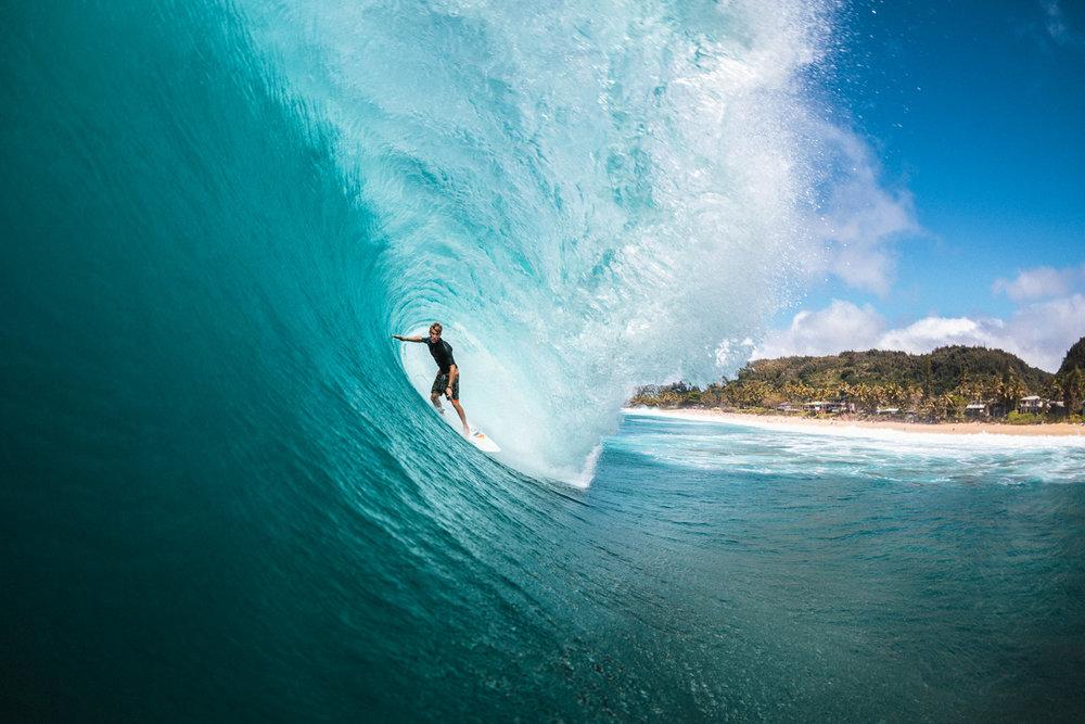 Pat Gudauskas, Off The Wall, North Shore, Oahu