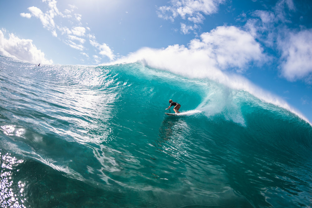 Skip McCullough, Off The Wall, North Shore, Oahu
