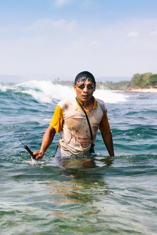 Sumatra Spearfishermen, Travel Photography