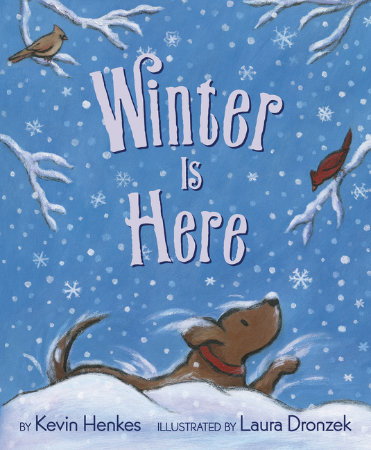 """This accomplished picture book details the season of winter. Author Henkes' text is simple but evocative, observing winter in perceptive and sometimes-playful detail. Illustrator Dronzek's acrylic illustrations...enrich and deepen the text as they add story details and warmth. ...A polished, playful story in which words and pictures dance in perfect harmony."" —  Kirkus   (starred review)"