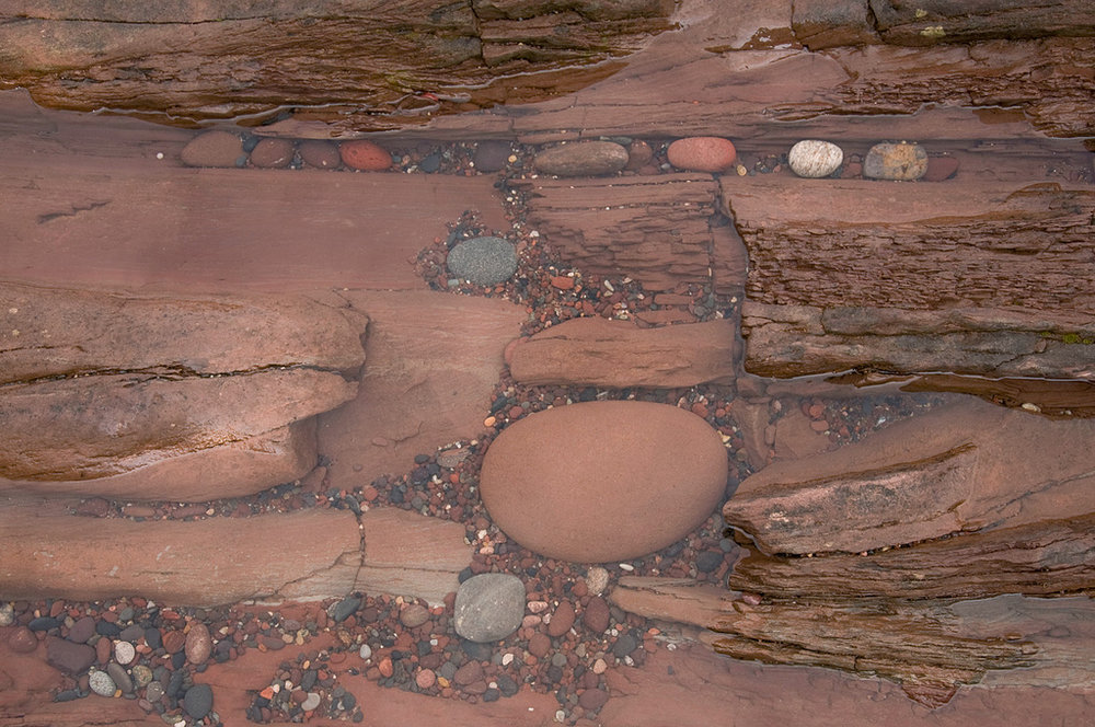 As the stones fit where they belong, being relocated sometimes by Lake Superior's waves.