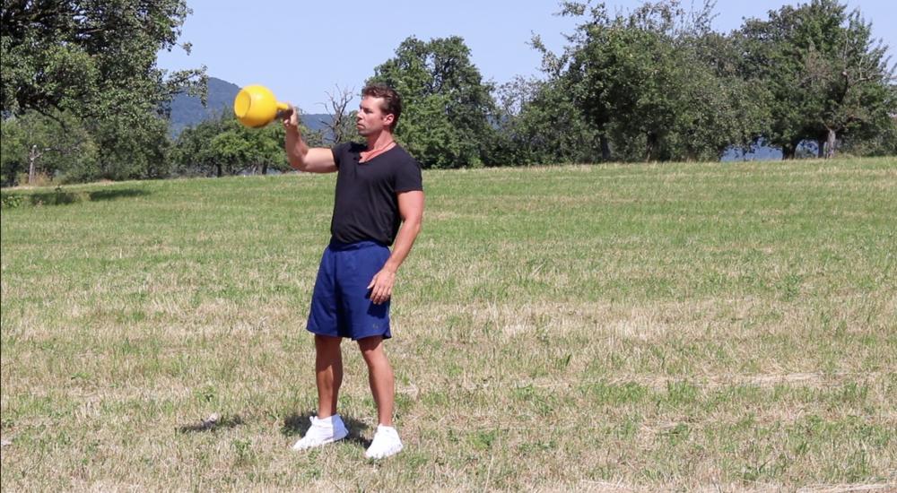 """Im obersten Punkt des Swing sollte die Kugel möglichst ruhig """"in der Luft liegen"""""""
