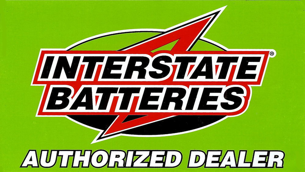 Battery service - Interstate Battery is the way to go for your vehicle.  Most of Interstate batteries provide a seven year warranty including a 24 month FREE replacement. Visit our location and we will check your battery and charging system for FREE as part of our Oil Change and 20-point vehicle inspection.