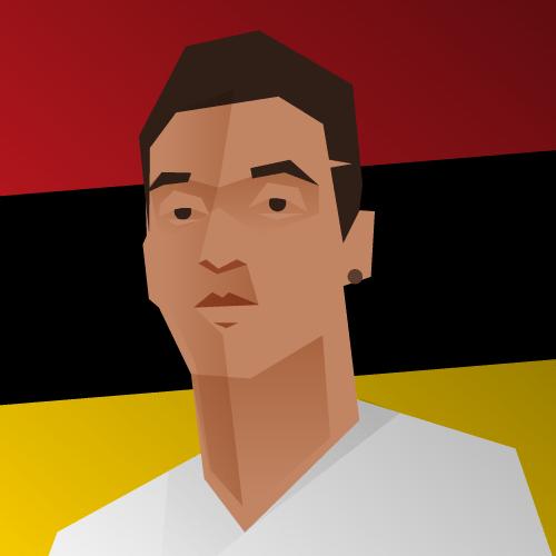 Mezut Ozil for TheEqualiser.com