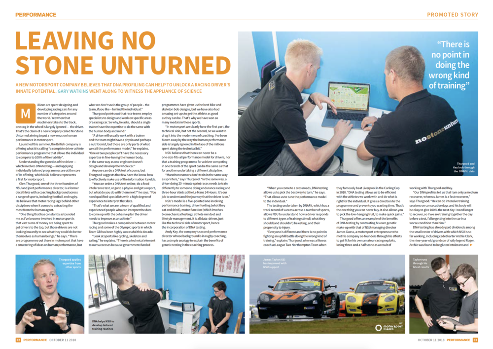 Autosport Article - Page 1