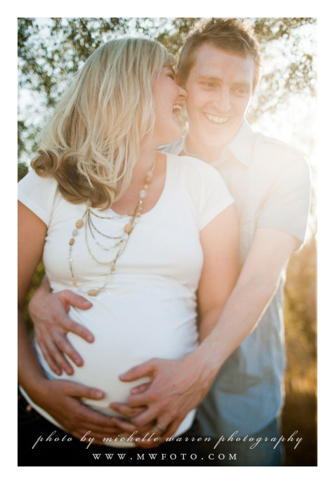 San Luis Obispo, Maternity photographs of Cameron + Anna Ingalls taken by Michelle Warren