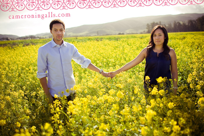 engagement pictures taken in San Luis Obispo by Cameron Ingalls