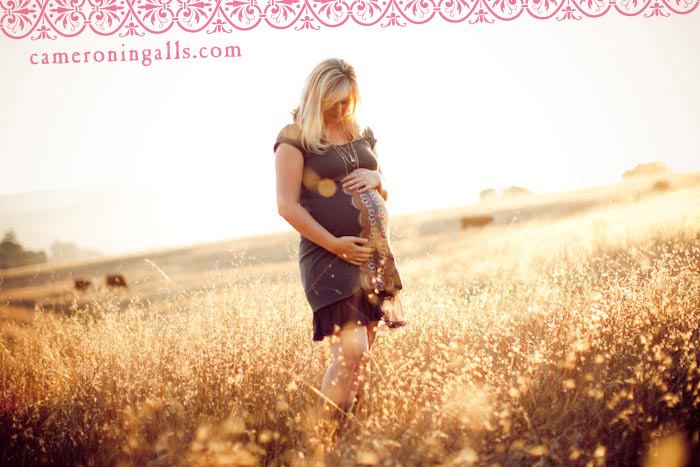 San Luis Obispo, Maternity photographs of Anna Ingalls taken by Cameron Ingalls
