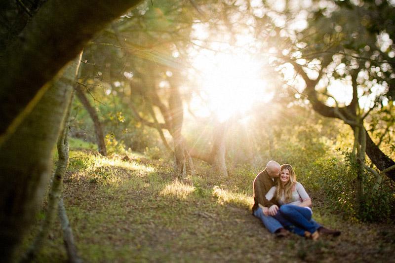 Santa Barbara engagement photographs of Beth Coyne + Steven Honnen taken by Cameron Ingalls