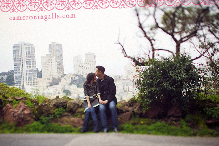 San Francisco, engagement photographs of Beverley Lui + Matthew Kwan taken by Cameron Ingalls