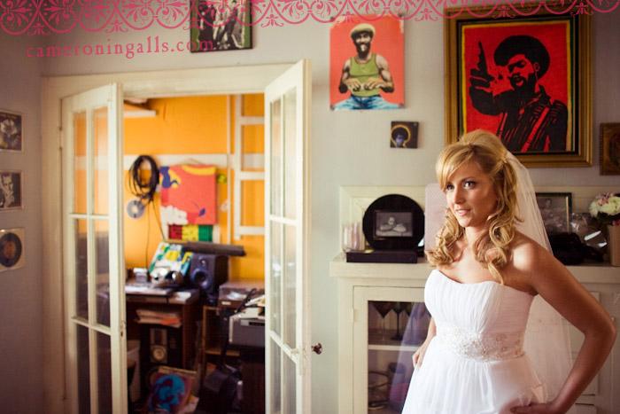 wedding pictures of J+ Nicki taken by Cameron Ingalls at El Cid Flamenco Restaurant, Hollywood